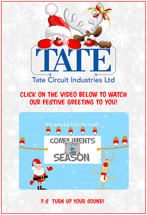 Tate Circuits PCB supplier in Midlands