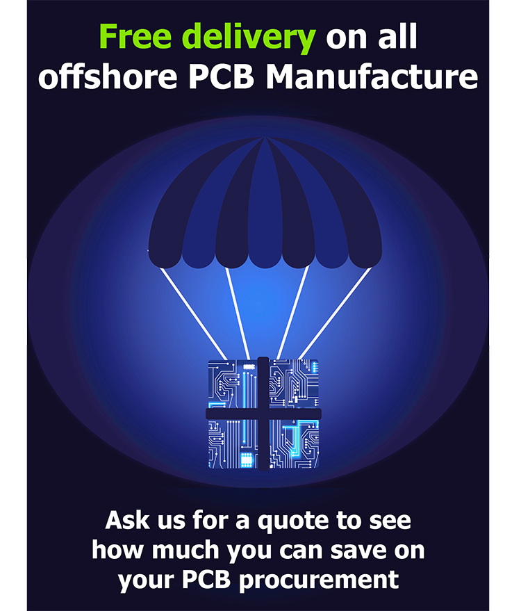 offshore pcb supply with competitive prices and free carriage