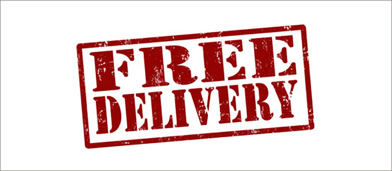 All PCB orders are now delivered carriage free!