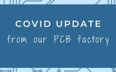 Shenzhen PCB factory – Covid Update