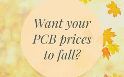 Want your UK PCB supplier prices to fall?
