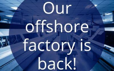 Our offshore PCB factory is back!