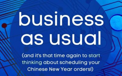 China PCB factory is back! (and start thinking about your CNY orders….)